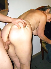 Desirable  aged mademoiselle having slippery cunt