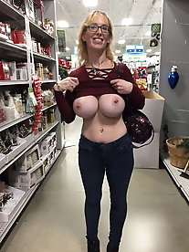 Delicious mature whores are revealing their breasts