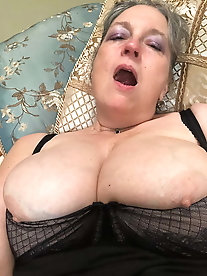 Superb older mamas were fucked hard